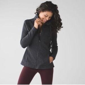Lululemon &go take off fleece jacket